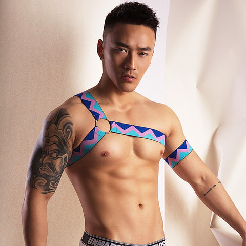 Multi-coloured Harness