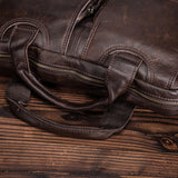 Genuine Leather Briefcase / Messenger Bag