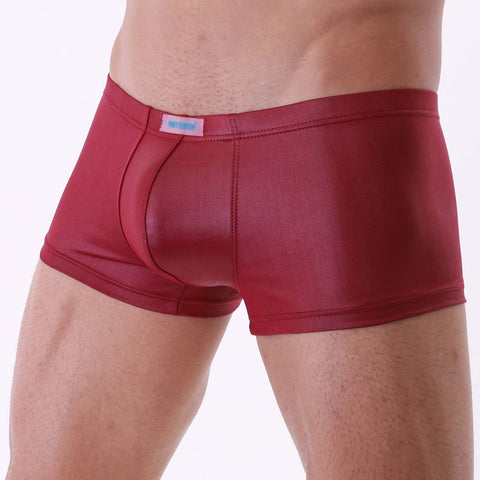 Leather Boxer Briefs