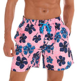Quick Dry Printed Beach Board Shorts