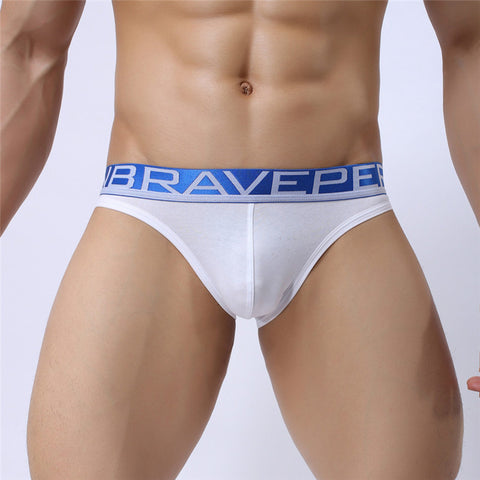 BRAVE PERSON Low waist Cotton Briefs with sexy back