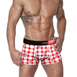 PINK HERO Dotted Cotton Boxer Briefs