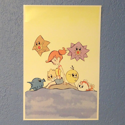 Pokemon Misty and Kirbymon