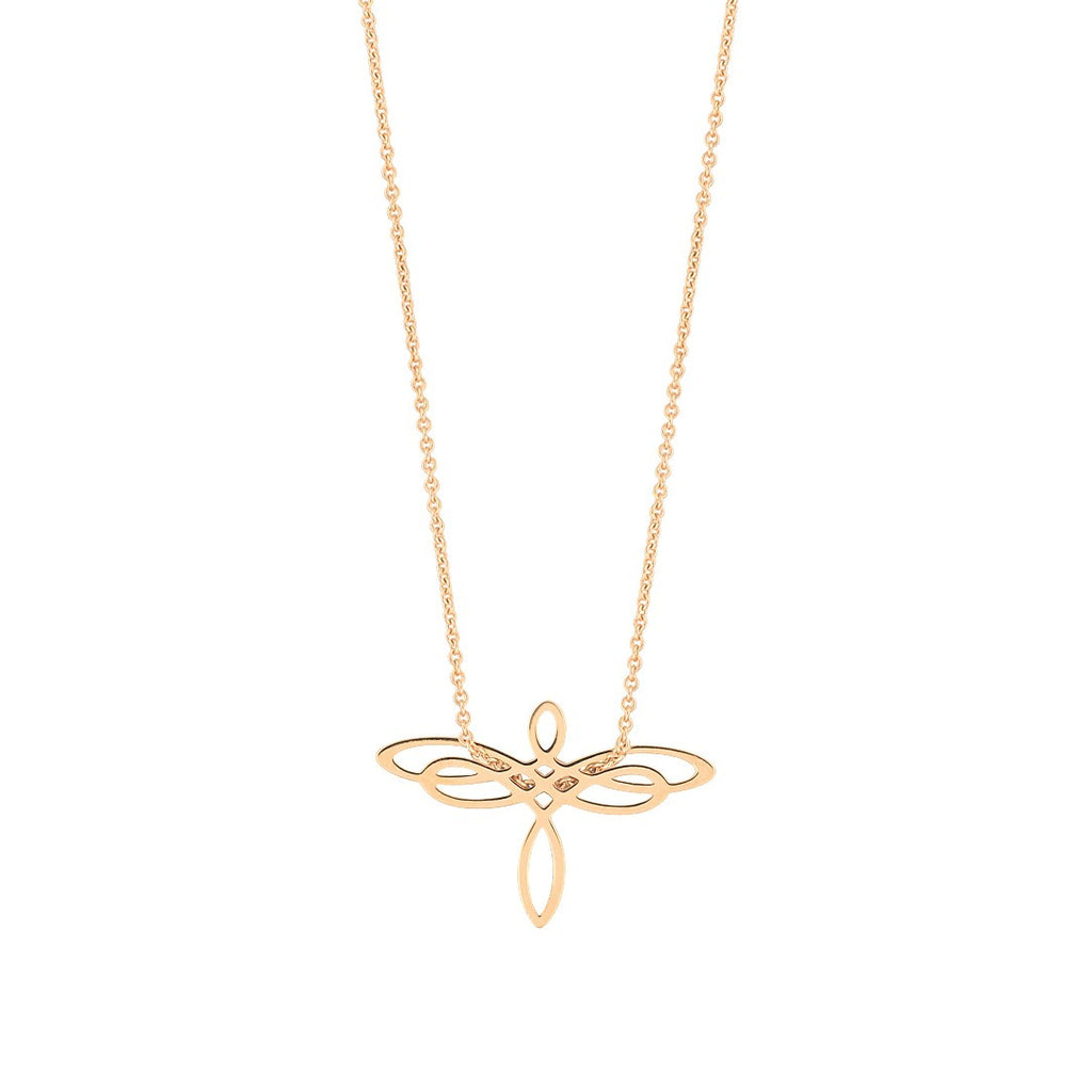 Mini Dragonfly necklace by Ginette NY