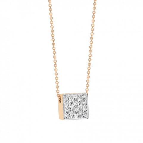 Baby diamond necklace by Ginette Ny