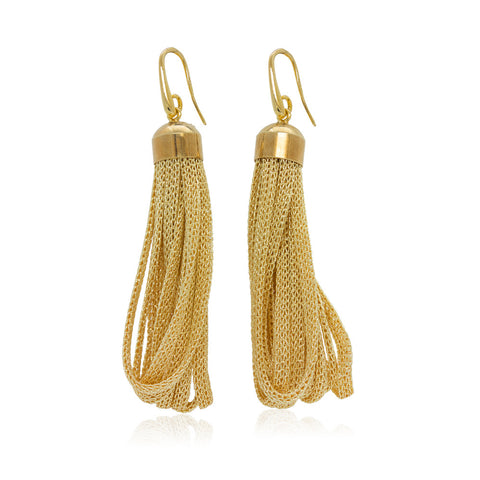Mesh Earrings by Tenthboulevard