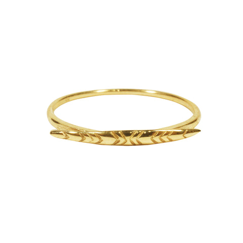 Leaf Ring By Blair Lim NY
