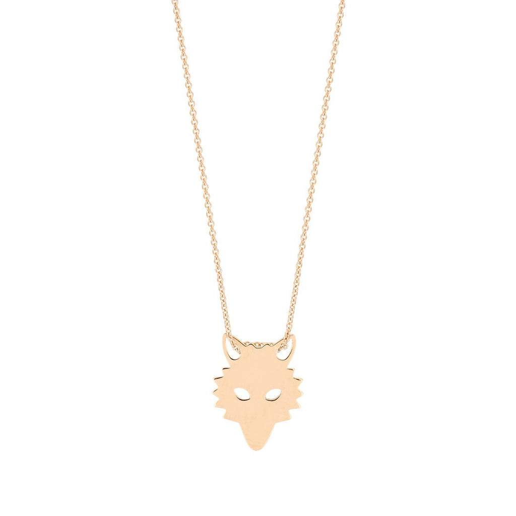 Mini Wolf necklace by Ginette NY