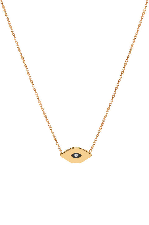Evil eye Necklace by Letters by Zoe