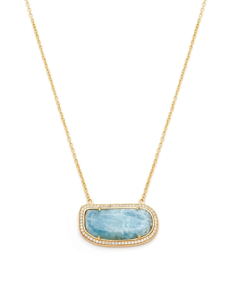 Stone Slice Necklace by Melanie Auld