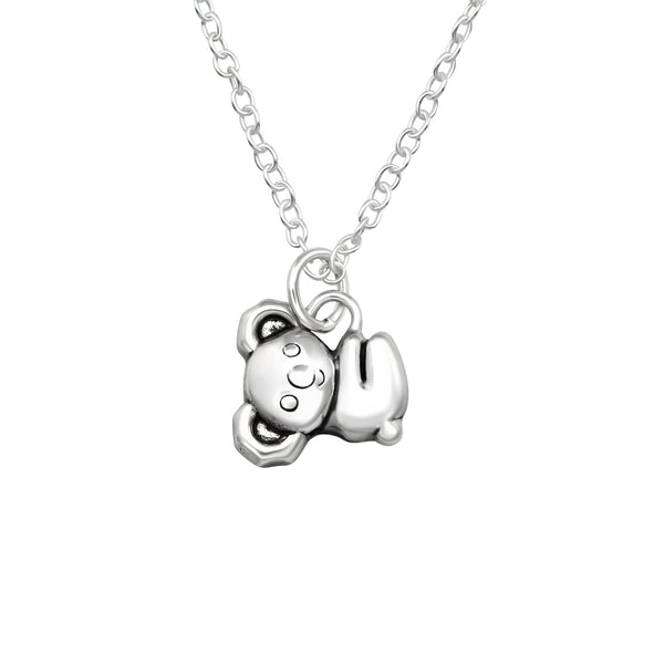 Koala Bear Sterling Silver Mini Necklace