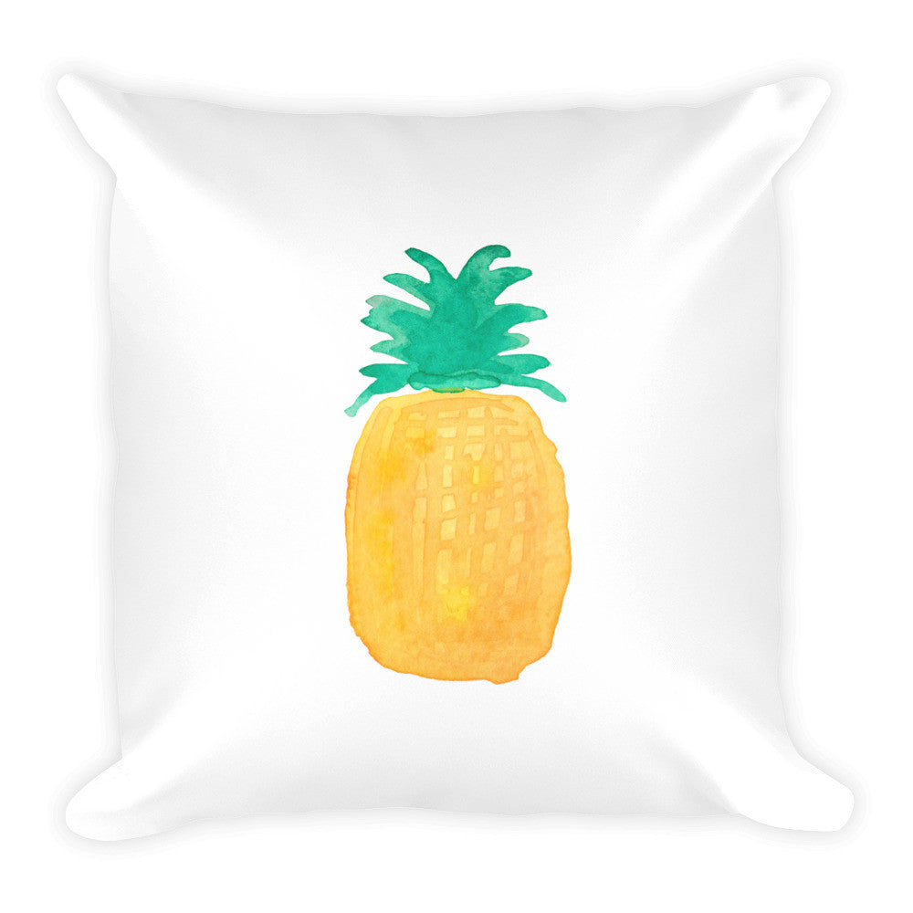 Pineapple Square Pillow - PrintfullyYours