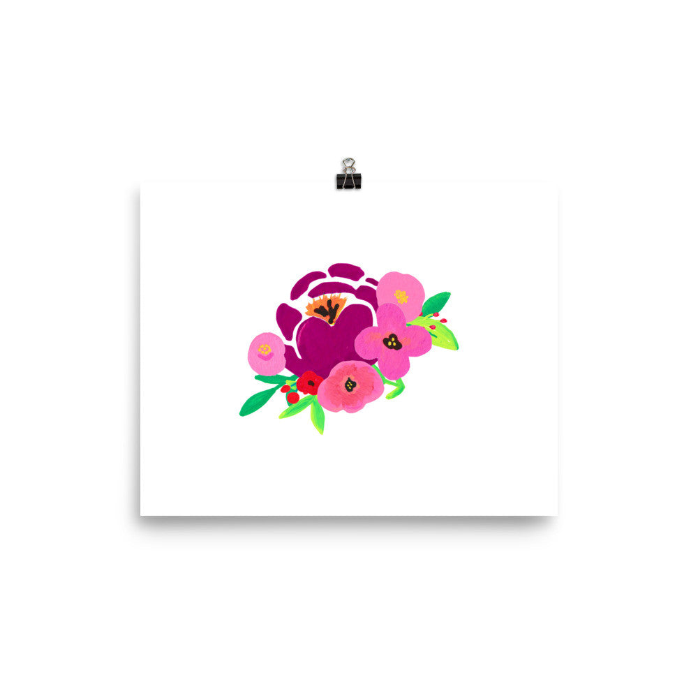 Floral Poster - PrintfullyYours