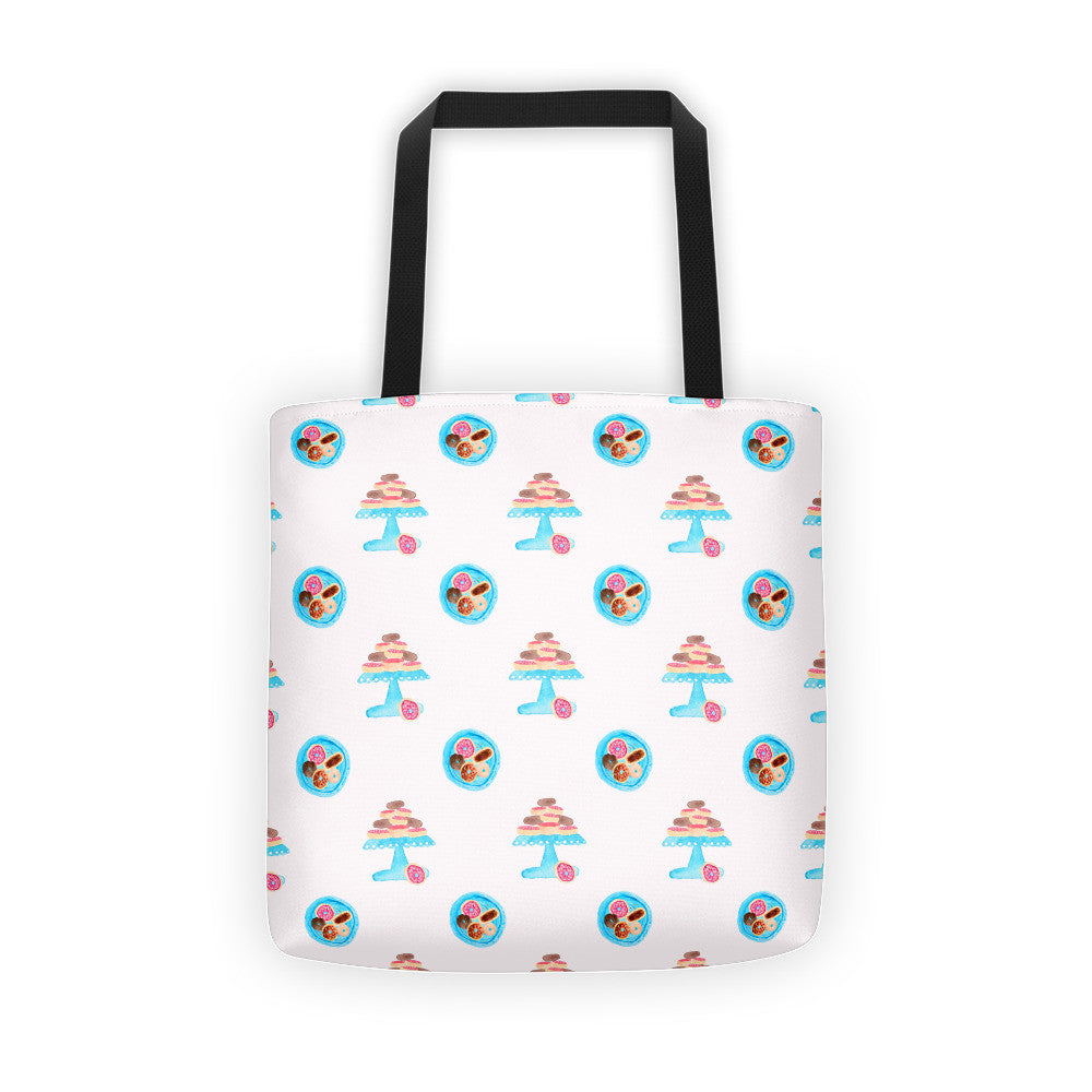 Donut Platter Yourself Tote bag - PrintfullyYours