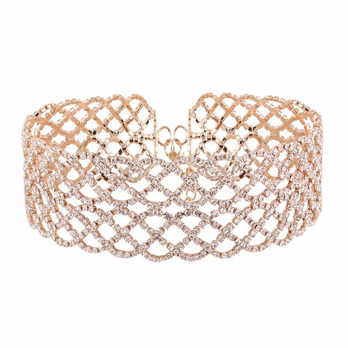 Diamante Jewel Choker