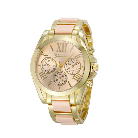 Accent Gold Watch
