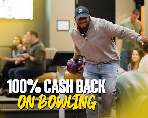 100% Cash Back On Bowling