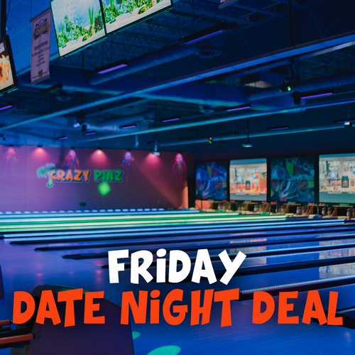 Friday Date Night Deal - 63% Off!!