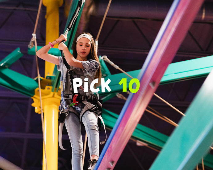 53% Off A Pick 10 Attractions