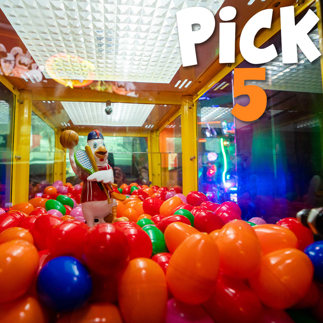 Pick 5 Attractions - 55% Off