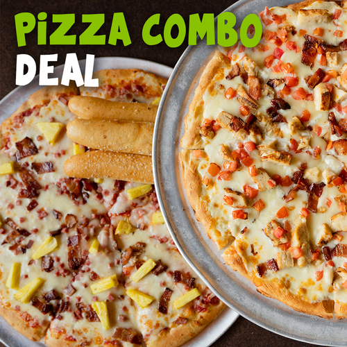 Pizza Combo Deal - 40% Off