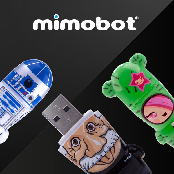 MIMOBOT Designer USB Flash Drives