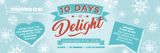 Mimoco's Ten Days of Delight