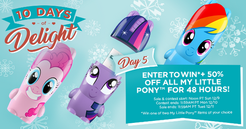 Day 5: My Little Pony (10 Days of Delight)