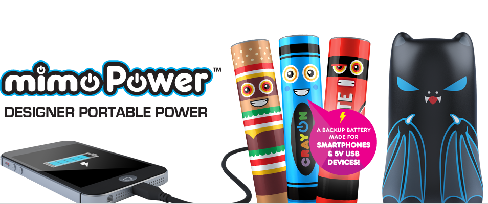 MimoPower Designer Portable Power