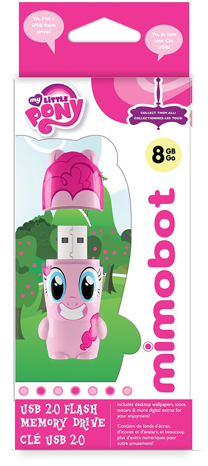 Pinkie Pie My Little Pony MIMOBOT USB Flash Drive | Mimoco