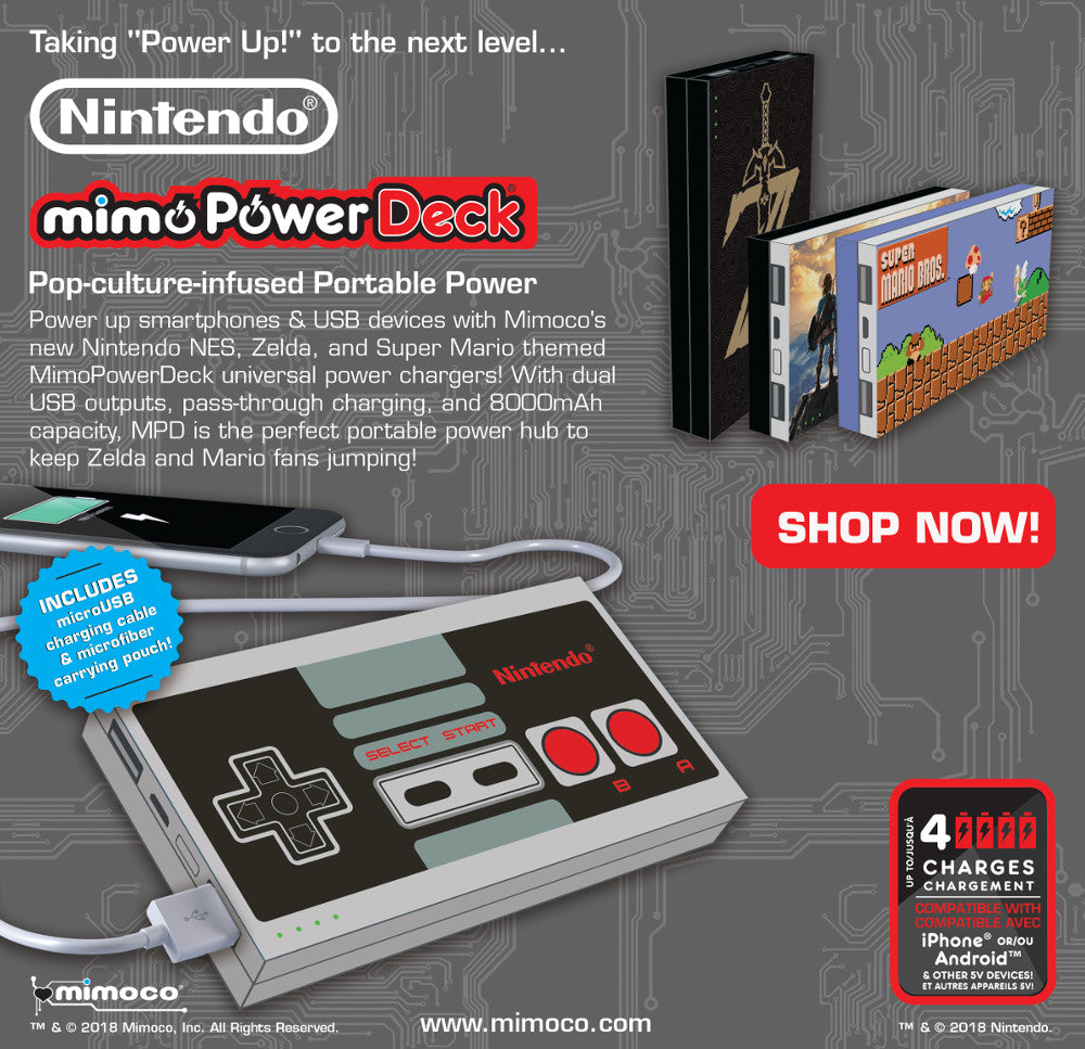 Mimoco: Coolest Pop-Culture USB Drives, Chargers, Mobile