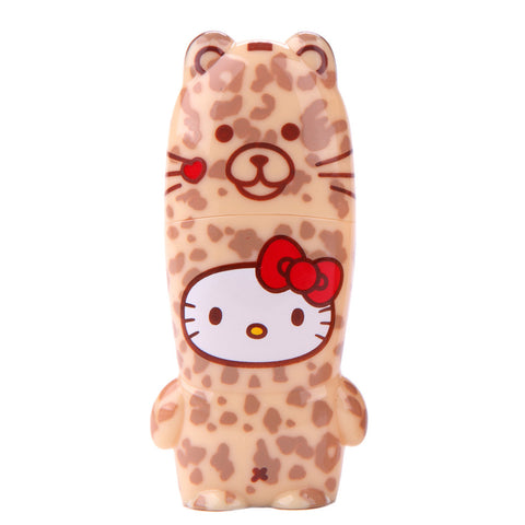 Leopard Hello Kitty Loves Animals MIMOBOT USB Flash Drive 16GB-64GB | Mimoco