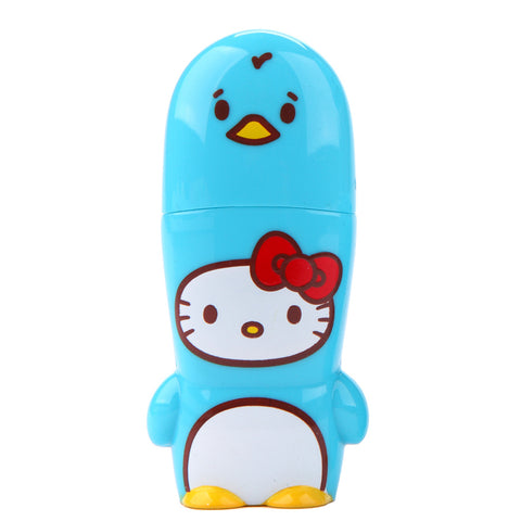 Penguin Hello Kitty Loves Animals MIMOBOT USB Flash Drive 16GB-64GB | Mimoco