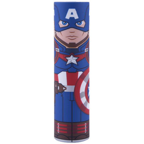 Captain America MimoPowerTube2 Marvel 2600mAh Backup Battery | Mimoco