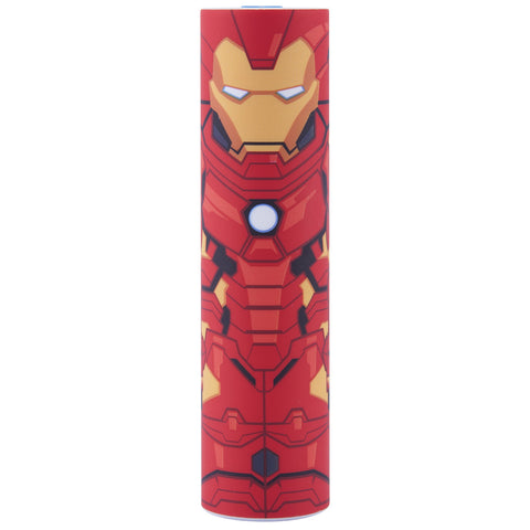 Iron Man MimoPowerTube2 2600mAh Marvel Backup Battery | Mimoco