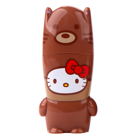 Fox Hello Kitty Loves Animals MIMOBOT USB Flash Drive 16GB-64GB | Mimoco