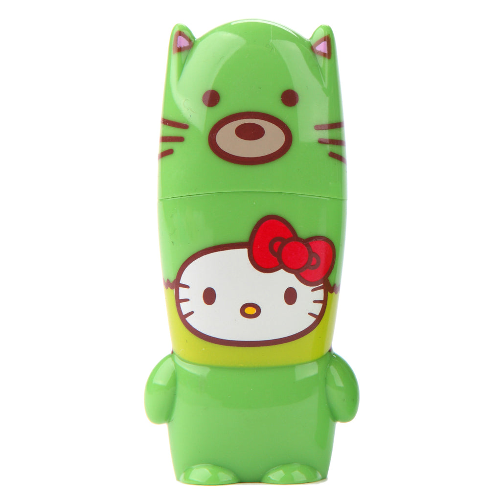 Green Fox Hello Kitty Loves Animals MIMOBOT USB Flash Drive 16GB-64GB | Mimoco