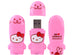 Seal Hello Kitty Loves Animals MIMOBOT USB Flash Drive 16GB-64GB | Mimoco