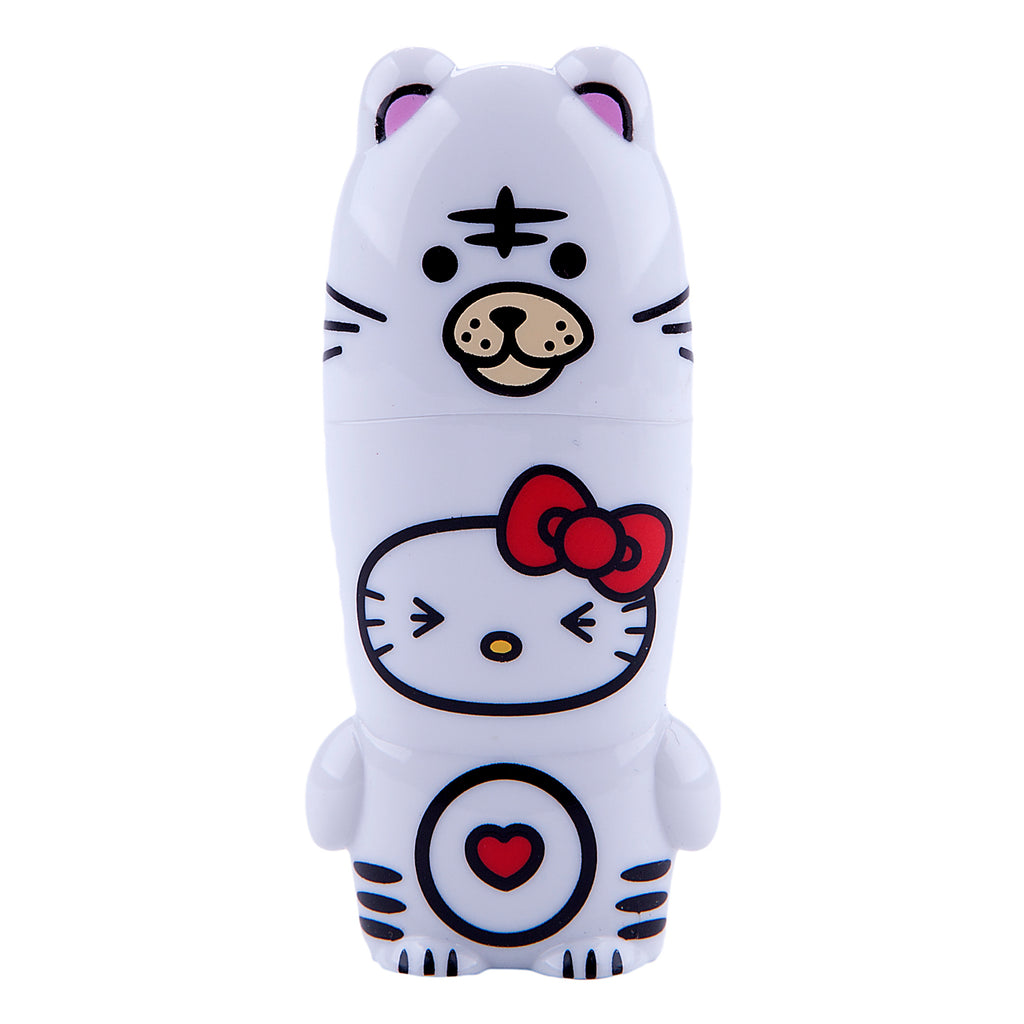 White Tiger Hello Kitty Loves Animals MIMOBOT USB Flash Drive 16GB-64GB | Mimoco