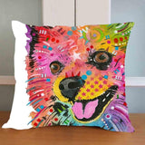 Dog Print Pillow
