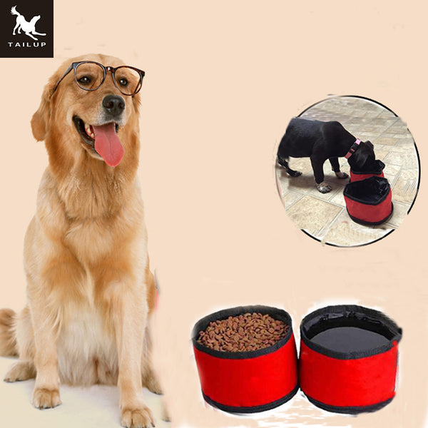 Collapsible Dog Travel Bowls