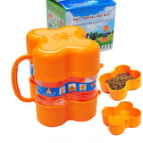 2-in-1 Travel Food Storage & Bowl