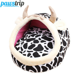 Cartoon Print Pet Beds