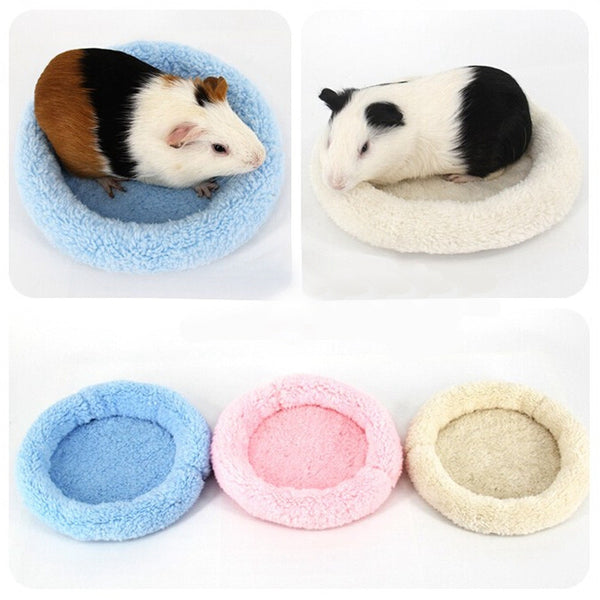Soft Round Cotton Pocket Pet Bed