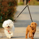 Nylon Double Coupler Dog Leash