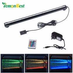18 Inch Underwater Aquarium LED Light Bar Strip With Air Bubbles