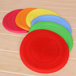 Pet Silicone Flying Frisbee