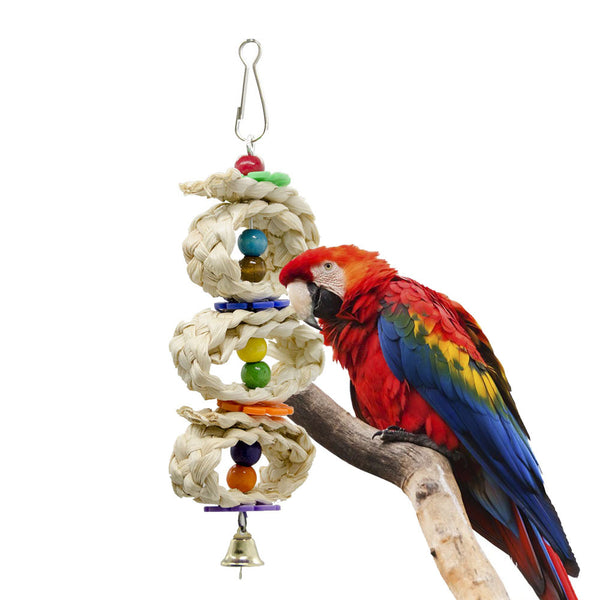 Interactive Bird Perch Toy