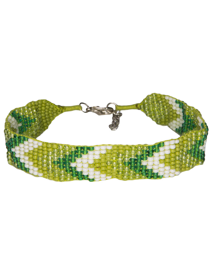 Mayalu Chevron Beaded Bracelet
