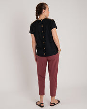 Kiran Embroiderered Hemp Top